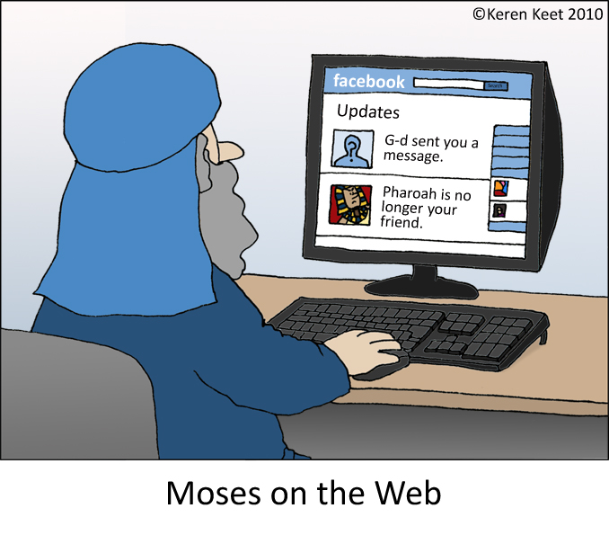 moses+on+the+web